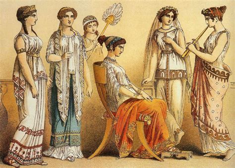 ancient greek costume history pictures showing how to recreate a this picture represents typical outfits worn by women in