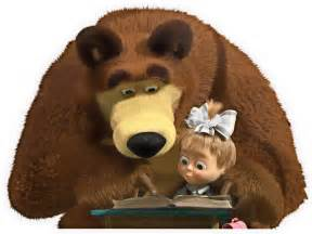 04 masha bear reading voices russia