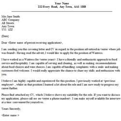 Waitress Cover Letter Sample   lettercv.com