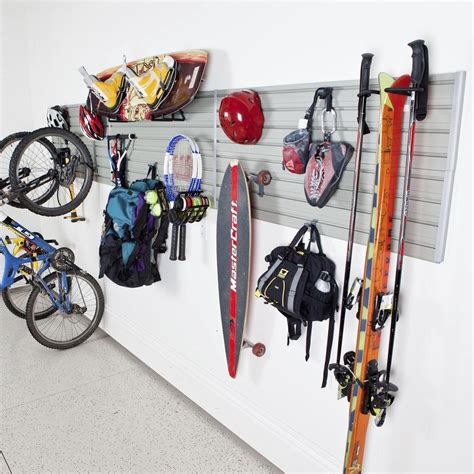 Sports Garage Cycling by Flow Wall Modular Sports Wall Storage Panel Set With