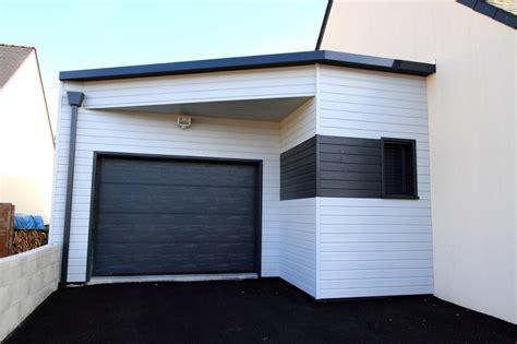 Garage Ossature Bois Toit Plat 2546 by Garage Ossature Bois Toit Plat Awesome Garage Ossature