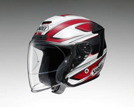 Helmet Shoei J 4 max mc direct shoei j iv 4 helmet briller tc1 white shoei openface