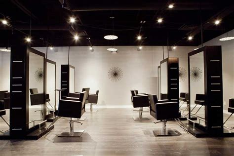 contemporary hair salon luxe chairs modern luxe salon hair salon frisco 75034