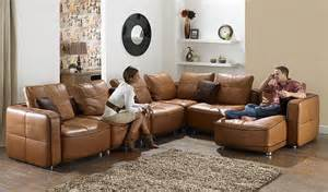 Leather Sofas And Sectionals Choosing A Contemporary Leather Sofa