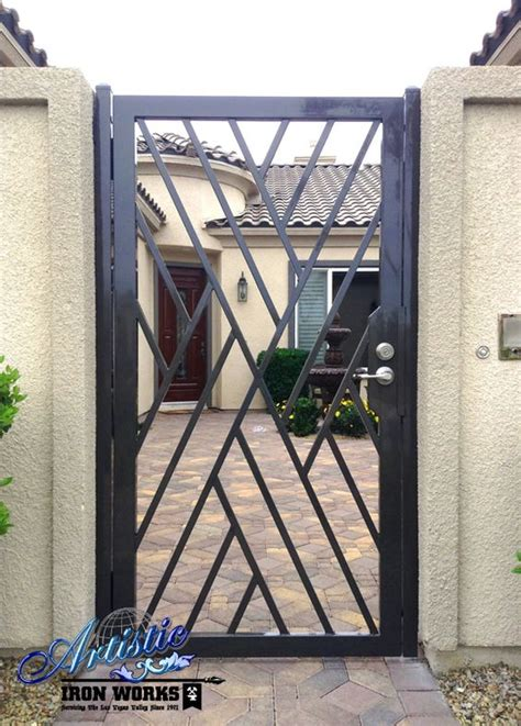 Front Door Gate Designs Wrought Iron Crisscross Front Entry Gate Wrought Iron Gates Doors Wrought Iron