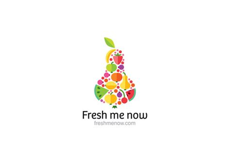 now fresh food 25 food inspired logos