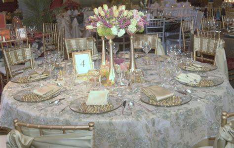 elegant table elegant garden theme wedding table decorations