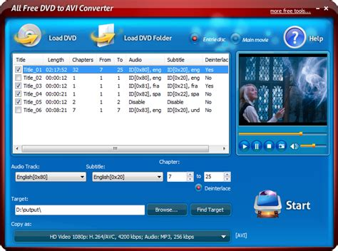 format dvd rip feature rich dvd converter program to rip dvd of any kind