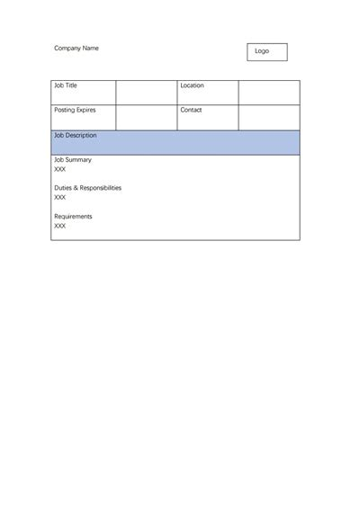 creating a description template description template free create edit