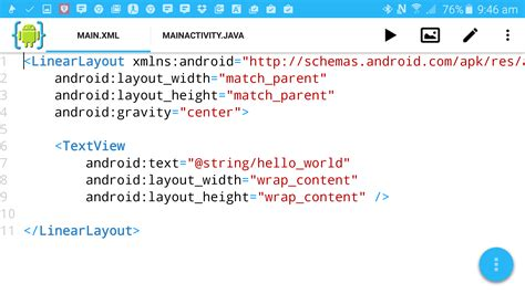 android layout xml z order how to start building android apps on your android phone
