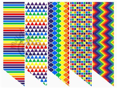 printable rainbow bookmarks printable bookmarks variety printed bookmarks rainbow