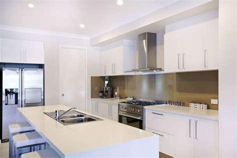 white kitchen bench kitchens