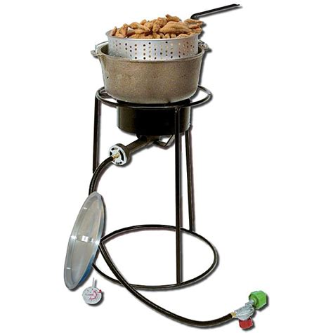 Portable Pot King Kooker Aluminum 20 Inch Propane Portable Outdoor
