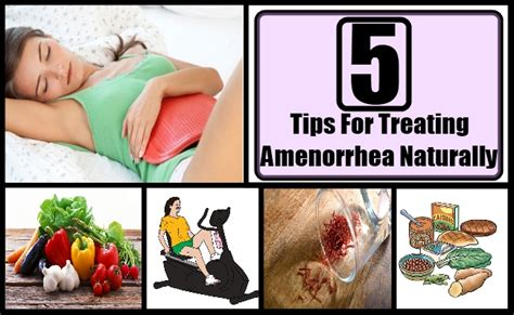 Secondary Amenorrhea Detox by 5 Tips For Treating Amenorrhea Naturally How To Get Rid