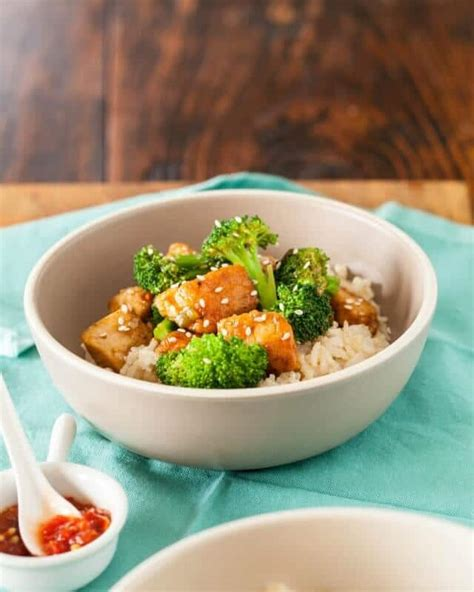 General Tso Kitchen by Healthy General Tso S Chicken Recipe Steamy Kitchen