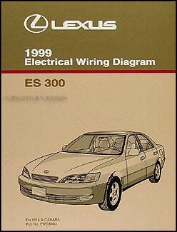 free car manuals to download 1999 lexus es spare parts catalogs 1999 lexus es 300 wiring diagram manual original