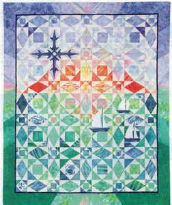 after the at sea quilt pattern pieced applique ships