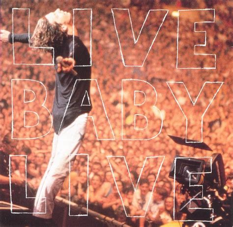 copertina cd inxs live baby live front cover cd inxs