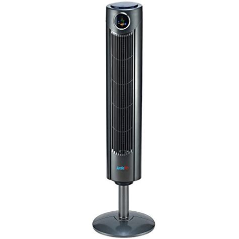 oscillating tower fan with remote control arctic pro digital screen oscillating tower fan with