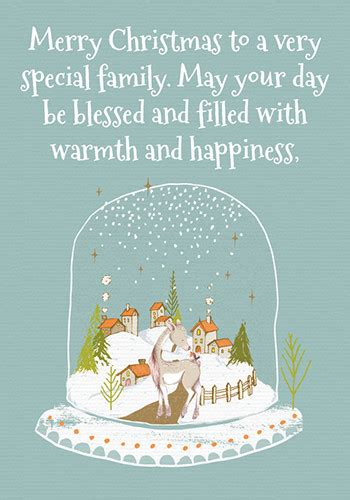 christmas wishes   special family  friends ecards