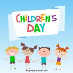 children s day illustration vector free