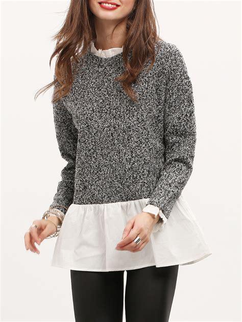 Sweater White Colour white color sweater sweater