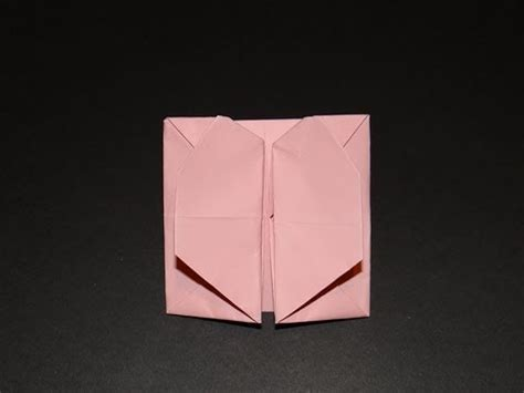 How To Make A Popper Out Of Paper - how to make an origami pop out envelope box 01