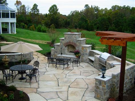 Paver Patios Hgtv Inside Outdoor Stone Patio Designs Backyard Patio Designs Pictures