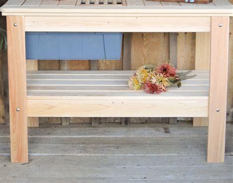 cypress potting bench cypress potting table