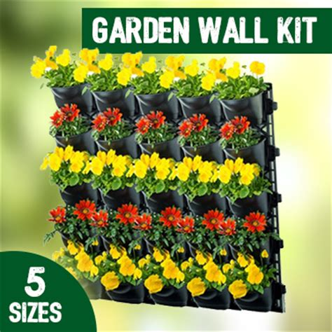 Vertical Garden Planter Kits With Weed Mats Buy Wall Vertical Wall Garden Kits