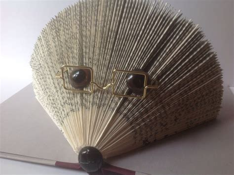 hedgehog picture book hedgehog folded book folded pages book recycled