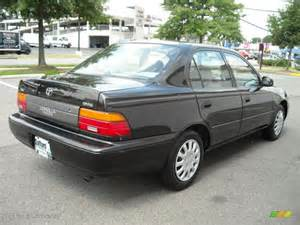 1995 Toyota Corolla Dx 1995 Satin Black Metallic Toyota Corolla Dx Sedan