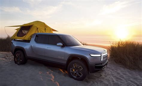 rivian rt pickup pictures  wallpapers top speed