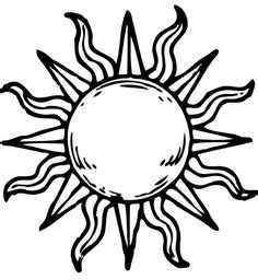 bohemian sun drawing google search sun pinterest