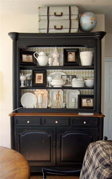 Black Painted Hutch pro painters nyc how to paint furniture like a real pro