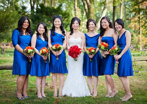 Bridesmaid Dresses Made In Usa - bridesmaid dresses in royal silk shantung made in