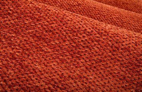 a 1 upholstery plushy chenille upholstery fabric in rust traditional