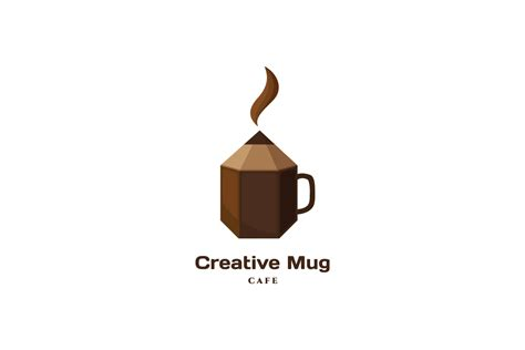 Mug Be Creative by Creative Mug Cafe Logo Design Logo Cowboy