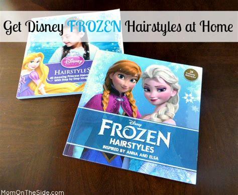 frozen hairstyles book get disney frozen hairstyles at home