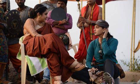 film india bahubali baahubali movie shooting spot stills uncutindia