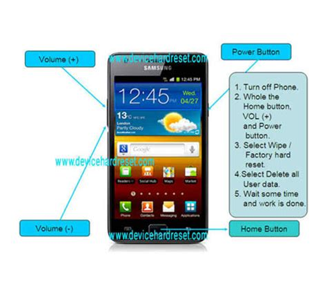 Reset Samsung S2 | how to hard reset samsung galaxy s2 i9100