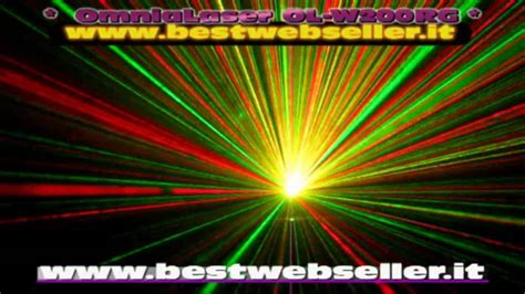 best web seller effetto luce laser stellare omnialaser ol w200rg wireless