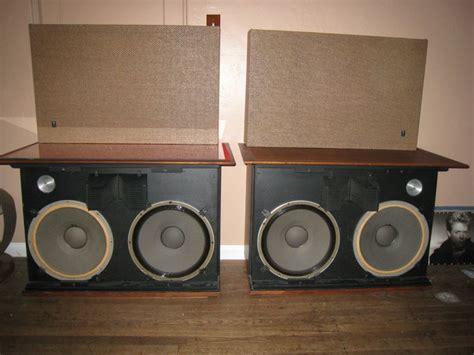 Beberapa Speaker Vintage Jbl jbl c50 olympus s8r vintage speakers with 375 driver one