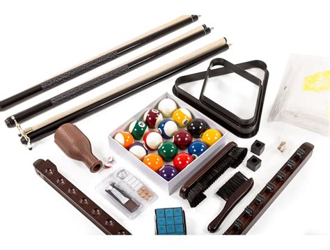 Pool Table Accessories Kit by Spencer Marston Deluxe Accessory Kit Pooltablesdirect