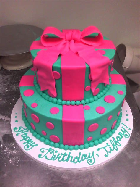 Custom Made Cakes by Gift Box Cake Made Custom Cakes