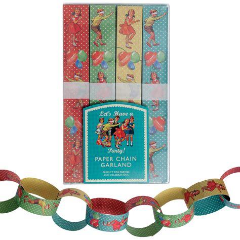 Paper Kits - paper chain kit vintage dotcomgiftshop