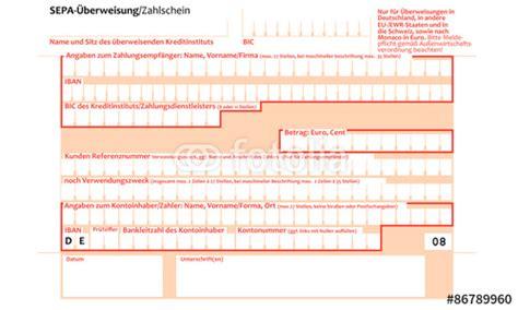 deutsche bank praktikum quot sepa 220 berweisungsschein quot obraz 243 w stockowych i plik 243 w