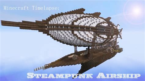 Blueprints For My House minecraft steampunk airship timelapse download minecraft