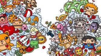 doodle speed drawing imagenes de graffitis kawaii