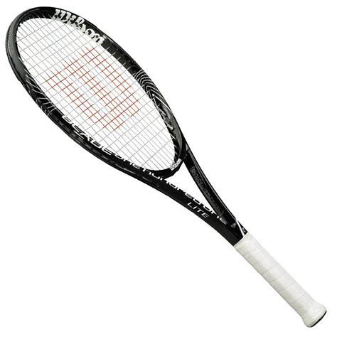 Raket Wilson Tenis Lapangan Raket Wilson Black Clipart Best